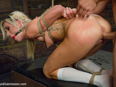 Mr. Pete  Maia Davis in Hot Little Blonde Gets Taken Down  Rough and Kinky Sex - SexAndSubmission