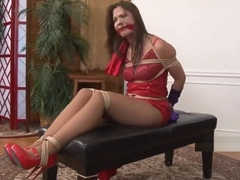 JESSICA RABBIT TIED AND GAGGED (Love4xs.com)