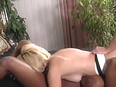 Hot vintage threesome with dominique simone