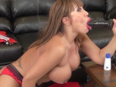 Ava Devine enjoys her sextoys in this video