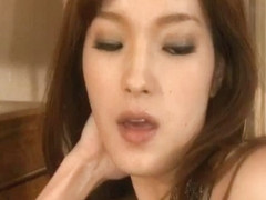 Mei Haruka hot Asian maid is thoroughly fucked in a thr