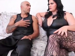Curvy Cuban Angelina Castro &amp_ BBC Get Sara Jay To Submit!