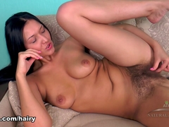 Vanessa Vaughn in Hairy Play Movie - ATKHairy