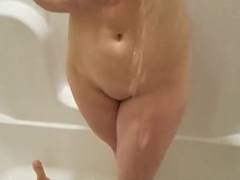 Girlfriend Caught Masturbating in Shower Fucked Hard - Amateur CanvasGirl
