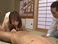 Horny Japanese model Yuna Mizumoto in Fabulous Blowjob, Rimming JAV movie