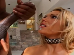 Anna Nova pounds her holes on Lex's dick and makes him cum twice.