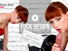 Alexa Nova & Nick Ross in Fuck design! - VirtualRealPorn