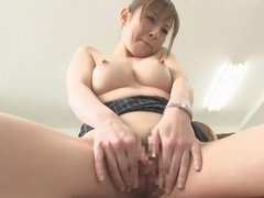 Exotic Japanese chick Yuria Sonoda in Hottest Threesome, Cougar JAV clip