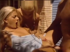 Nikky Blond & Angelica makes old man happy