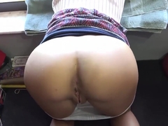 Horny Averi Brooks loves dads cock in her pussy