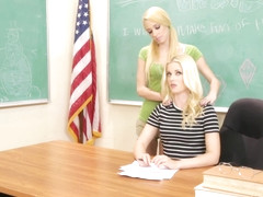 Charlotte Stokely And Lola Hunter - Teacher Vs Student Part 2