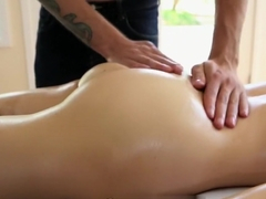 HD PornPros - Emily Grey fucks guy on the massage table