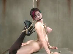 Crying slut Iona Grace loves Sadistic Rope tortures