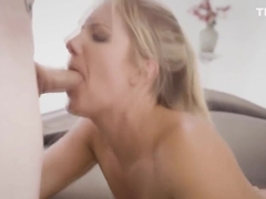 Candice got double penetrated by robbers Johnny and Robby's massive cocks