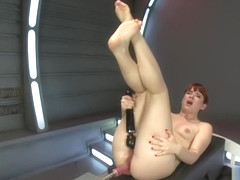 Winsome Claire Robbins making her dirty kinky dreams come true