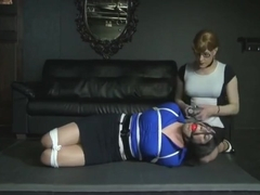 hogtied blind