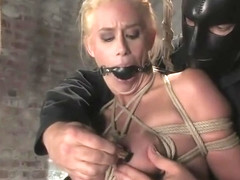 BDSM sex video featuring Leigh Darby and Kylie Worthy