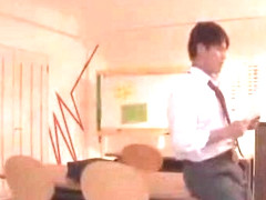Horny Japanese whore Hina Akiyoshi in Incredible Stockings/Pansuto, Hairy JAV scene