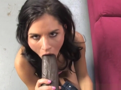 Missy Maze' First Interracial Scene