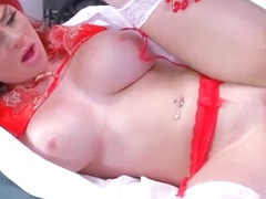 (Skyla Novea) Horny Patient Get Seduced And Hard Nailed By Doctor movie-27