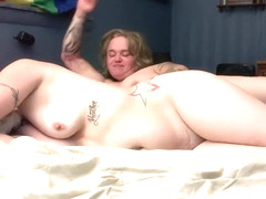 Pinky&Angel-Real Lesbians HOT Rough Happy Anniversary Fuck! Pt.3of3
