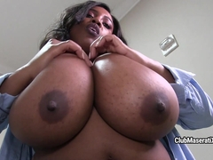 The Bubbly And Busty Waitress - FanCentro