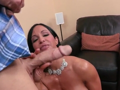 Jewels Jade grants Johnny Sins the right to fuck her