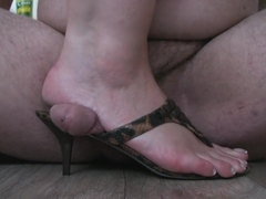 inshoe footjob