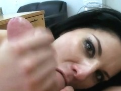 Ball sucking Erin Marxxx has interview in pov