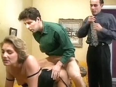 french mommy double drilled by spouse and ally