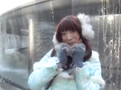 Japanese crossdresser amane outdoor 00