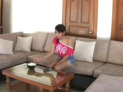 LadyboyGold Scene: First Date Blowjob