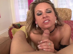 Incredible pornstar Amanda Blow in Amazing MILF, Small Tits sex clip