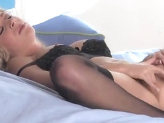 European beauty Julia Crown in masturbation xxx action