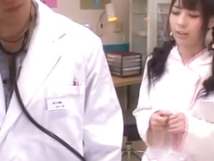 Hottest Japanese girl Ruka Kanae in Exotic Medical, Nurse/Naasu JAV movie