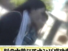 Incredible Japanese chick Chisato Ayukawa, Yuuha Sakai in Exotic Public, Blowjob/Fera JAV clip