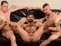 Jeff Kendall, Jon Shield and Don James - BarebackThatHole