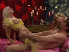 Crazy pornstars Adrianna Nicole and Brandi Edwards in best blonde, big butt adult movie