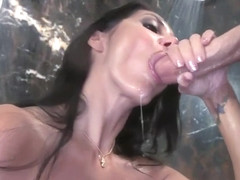 Bigtit milf sucking and tittyfucking