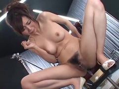 Crazy Japanese chick Nachi Sakaki in Exotic Fingering, Blowjob JAV video
