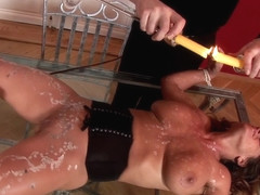 Absolute In Zenza Raggi And Sexy Susi - Bad Guy Pouring Hot Wax On