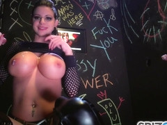 Christy Mack & Mark White in Brooklyn Chase Glory Hole - KINK