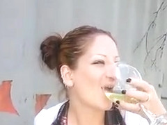 sexxycandyxxx piss drinking queen