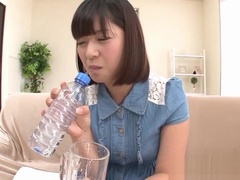 Piss drinking asian teen