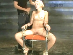 Spicy Dylan Ryan performing in BDSM action