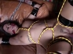 Bound And Gagged Hoe Tasia Banx Gets Pounded Hard
