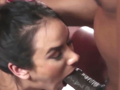 Busty milf fucked interracially in cuckold