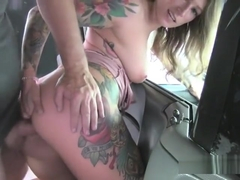 Slut Ava Austen Enjoys Anal And Jizz From Driver