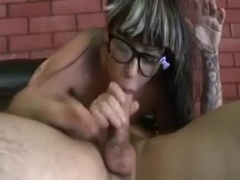 Extreme Mouth Fuck Of Latina Hottie