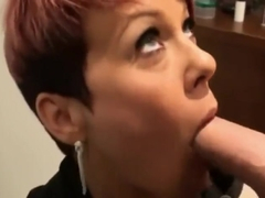 40 years old British Milf pumped by Belgian